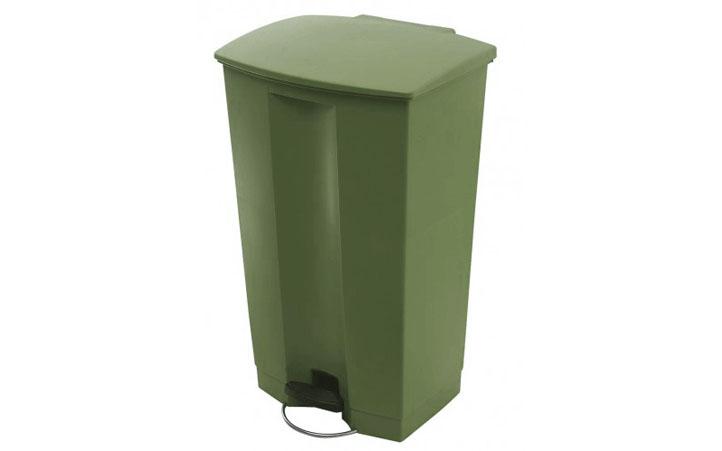 87l脚踏式垃圾桶-全塑胶结构